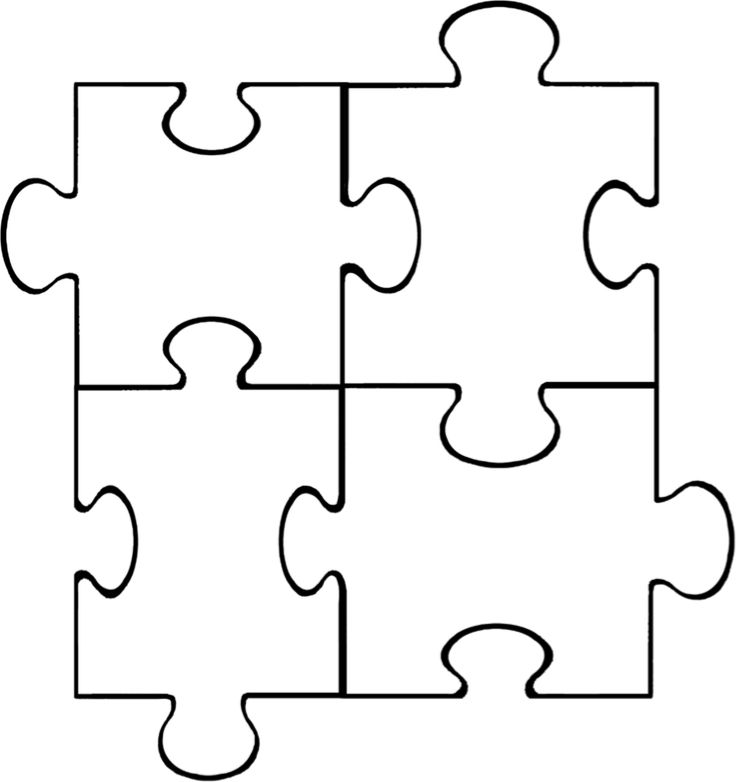PUZZLE piece template - Google Search