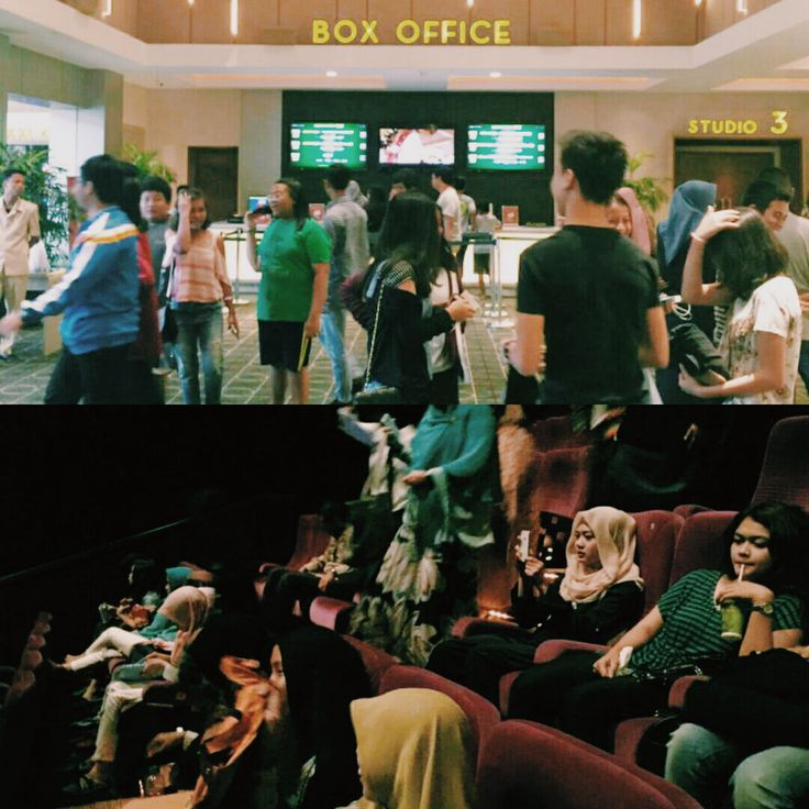 These are the atmosphere in the Cinere Bellevue XXI whenever I'm going to watch #BTDLA the movie.