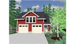 Garage Plans With Apartments - The Plan Collection