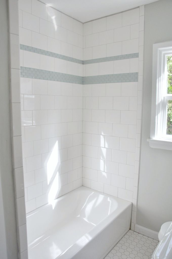 Bathroom Subway Tile Accent best 25+ glass tile shower ideas on pinterest | glass tile