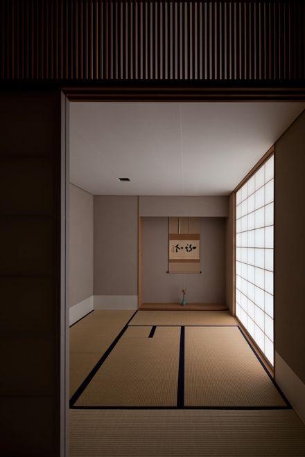畳をパースに使う。Japanese tea room, Chashitsu 茶室