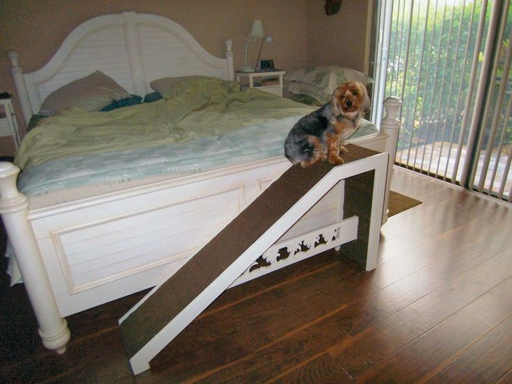 how to build a ramp for a pet