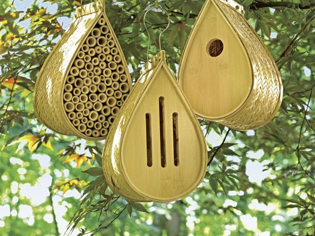 Support Your Local Pollinator With These High Style Bamboo Habitats From  Gardeneru0027s Supply Company. Garden GiftsFor The ...