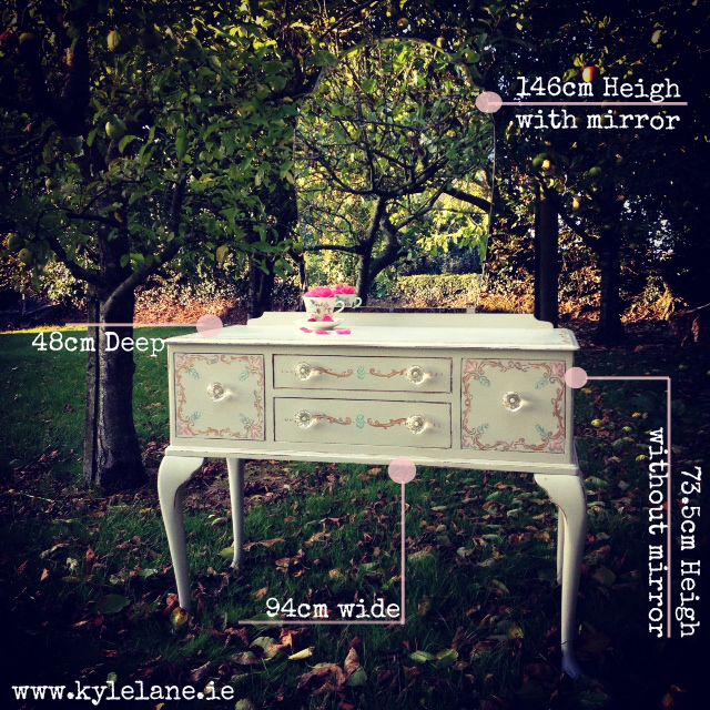 upcycled vanity table , by Kyle Lane Clonmel