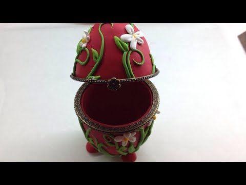 Polymer clay Egg Box by Sandrartes