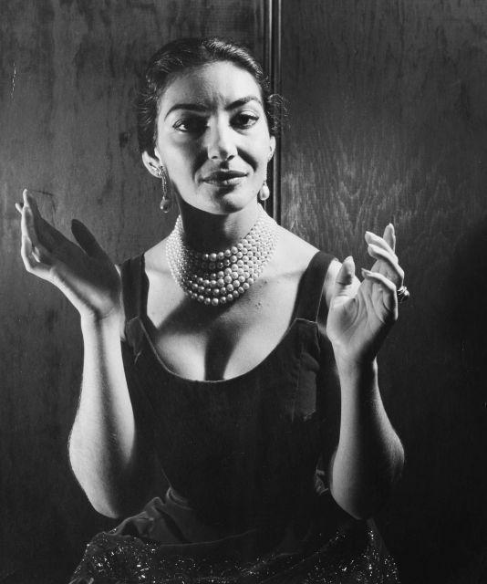 Cecil Beaton, Maria Callas, Londres, 1957.