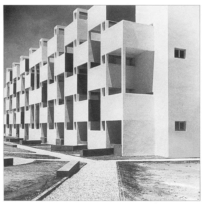 umgatodeitadoaosol:    Georges Candilis - Cité Verticale/Horizontale, Morocco