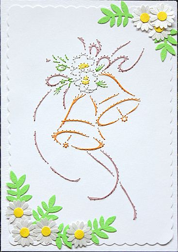 Stitching on Cards