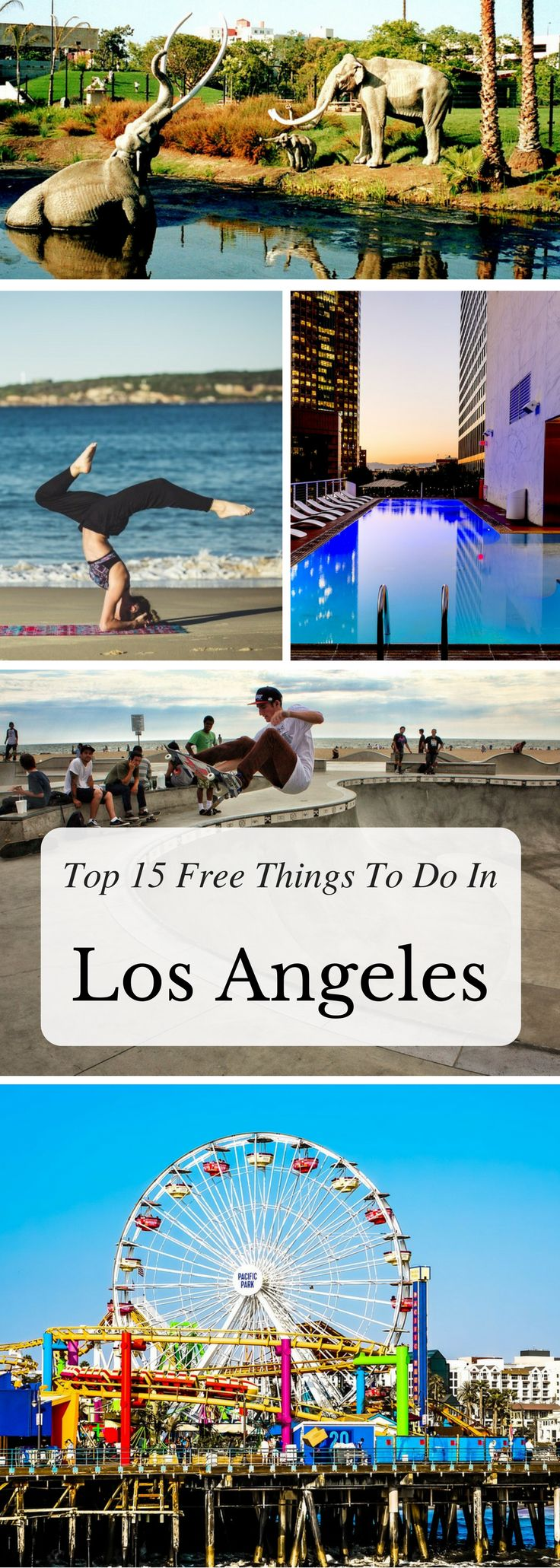 Looking for the best free things to do in Los Angeles? Look no further! We've gathered our favorite 15 activities that are completely free, including different types of activities, various neighborhoods, and a diversity of scenes and vibes, just for you. Click on the link to read more about the Top 15 Free Things To Do in Los Angeles!