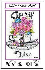 X's & Oh's - Teacup Flowers - Birth Flower - April – Stoney Creek Online Store