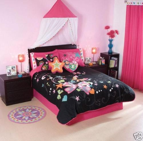 Pink And Black Girls Bedrooms 55 best room images on pinterest | bedroom ideas, bedrooms and