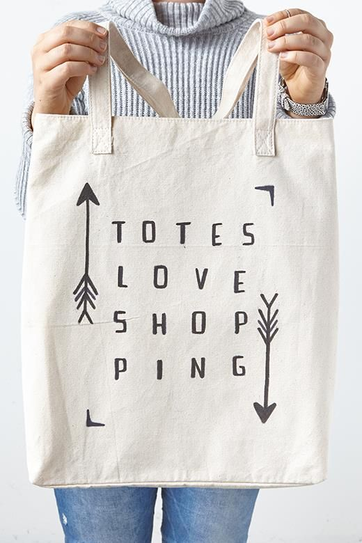 Diy Tote Bag | Typo  Omg You Can Write What You  Want On Your Own Bag . What Would You Write? #TypoIsMyBae | Typo