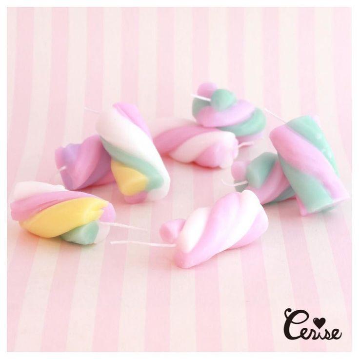 今なら全色揃っています Cerise Official Blogを更新しました Marshmallow Candle http://ift.tt/2lwa7iy . #cerisestore #cerise #candles #marshmallow