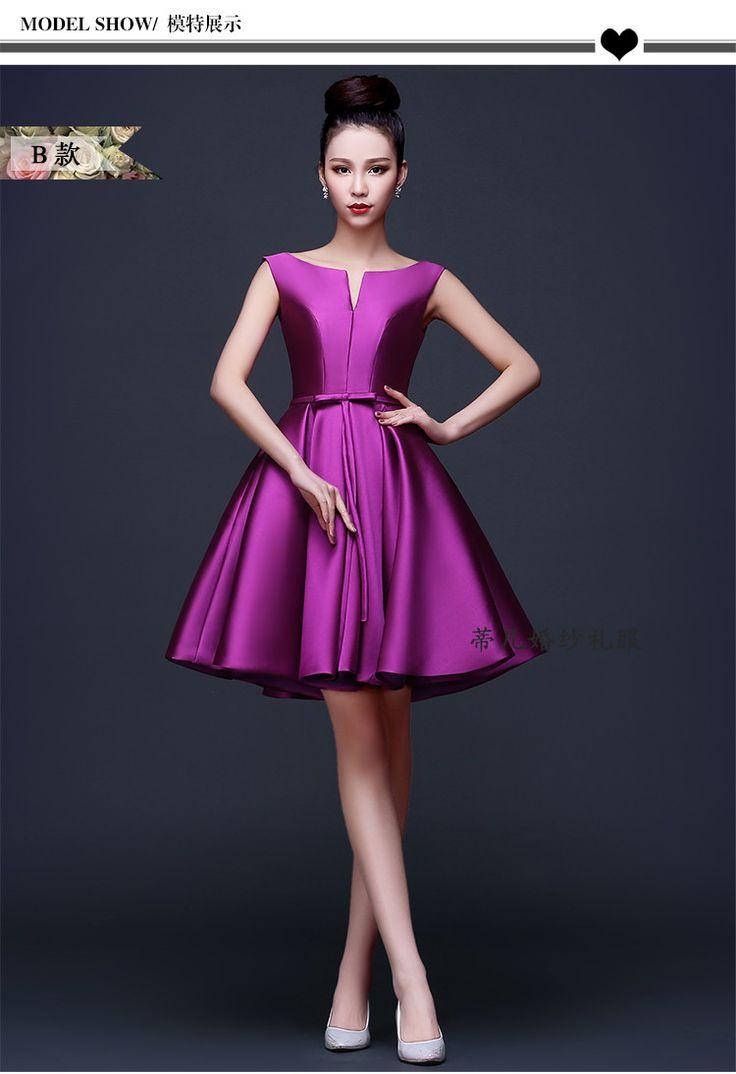 JC & STAR Custom colors and sizes дешевые Фиолетовый Платья для Подружек Невесты до 50 Длинные Свадебные платья Партии Платья Вечернее Платье купить на AliExpress