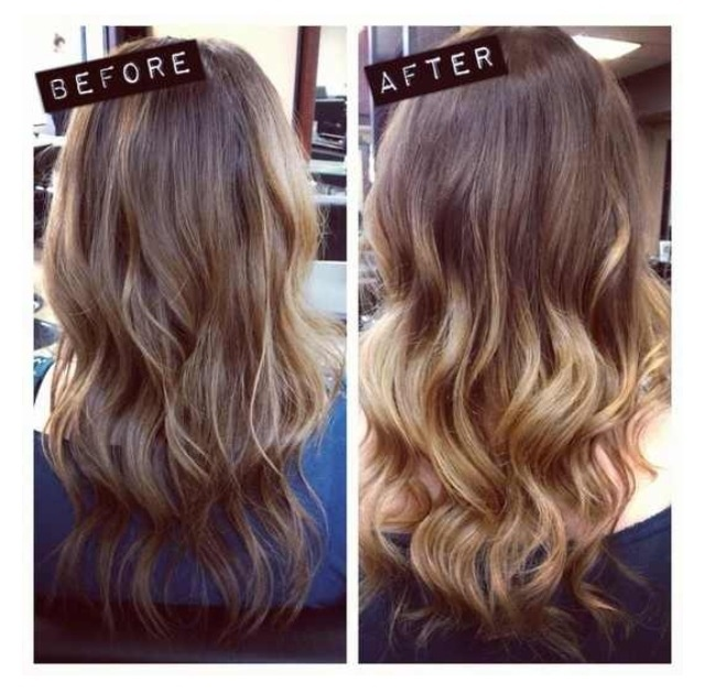 Subtle ombre hair brown to blonde trendy hairstyles in the usa subtle ombre hair brown to blonde urmus Images
