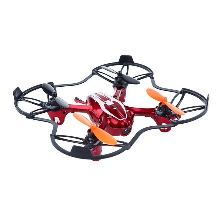 Mini RC Remote Camera Quadcopter 2.4GHz 4CH 6 Axis - Red