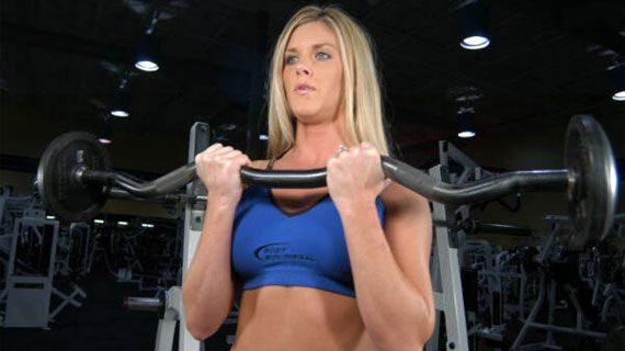 Women Should Not Shy Away From Heavier Weights.