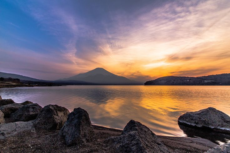 Sunset reflection of Mt.Fuji by Minoru Orii on 500px