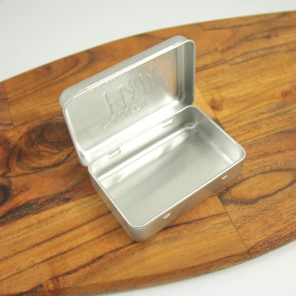 Keep hand soap, shampoo bars, and even solid deodorant protected with this metal soap box.