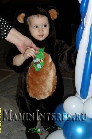 Как сшить самому новогодний костюм медвежонка