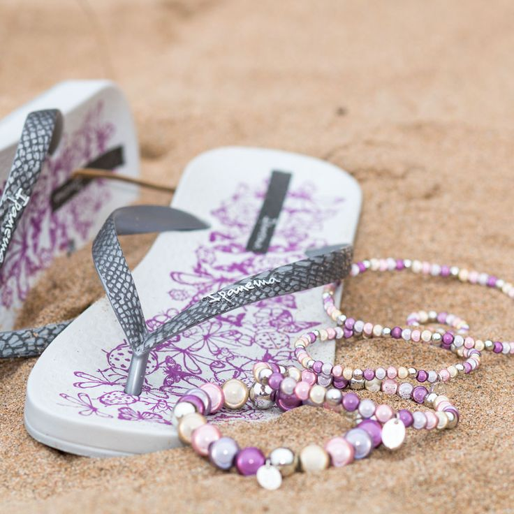 Enter for your Chance to WIN a bundle of Funky, Reflective Jewellery By Disco Beads and Matching Flip Flops from The Flip Flop Shop