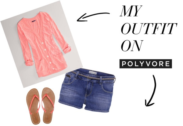 """""""Cute Summer Outfit"""" by mcauleych on Polyvore"""