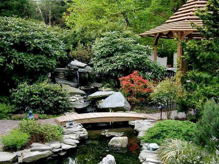 84 best jardin images on Pinterest Sloped backyard, Garden stairs - jardin japonais chez soi