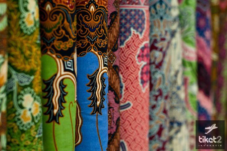 Motif kain batik cerah - Pasar Beringharjo #Yogyakarta