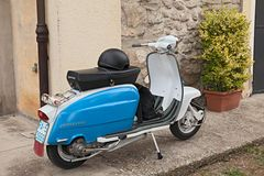 Vintage Italian Scooter - Download From Over 59 Million High Quality Stock Photos, Images, Vectors. Sign up for FREE today. Image: 21037762