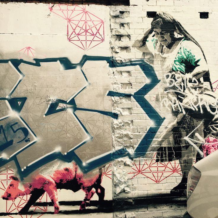 Graffiti from Shoreditch, London, 2015