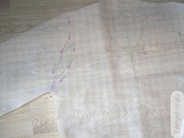 Условно цельно-валяный рукав - Ярмарка Мастеров - ручная работа, handmade