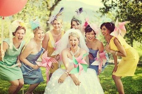 Мастер-класс: Бумажная вертушка на свадьбу
