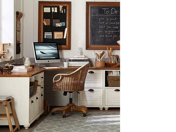 Pottery Barn Home Office Design Ideas