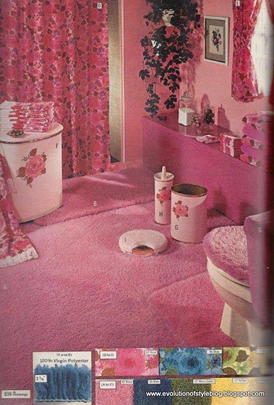 1970  39 s bathroom. 1000  images about Vintage Bathrooms on Pinterest   50s bathroom