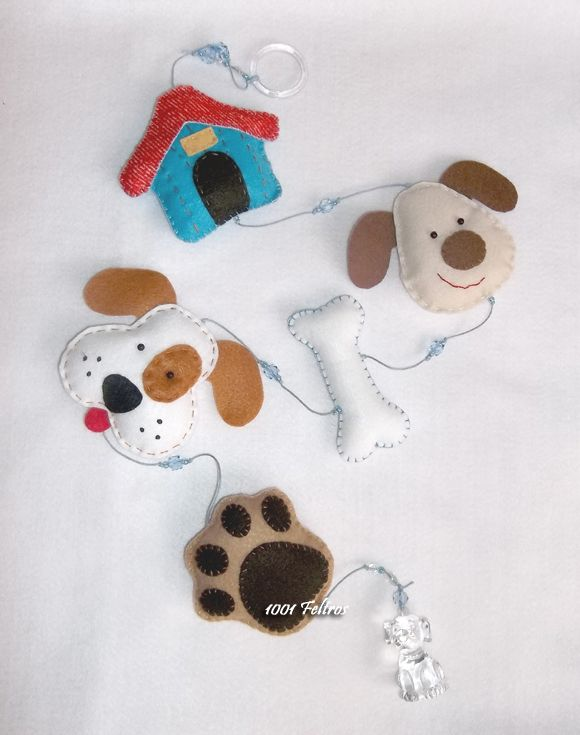 1001 Felt: Puppies everywhere ...