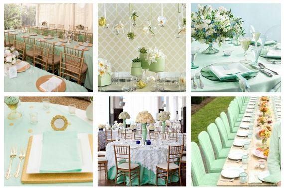 зеленый, мятный, зеленые оттенки, свадебное оформление, свадебный декор, оформление свадебного стола; green, mint, green shades, wedding decoration, wedding table decoration;