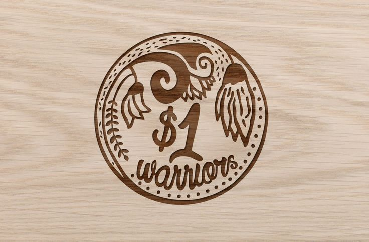 Brand concept for not for profit. Stamp feel that shows the illustrations and typography...  visit onedollarwarriors.org.nz to find out more