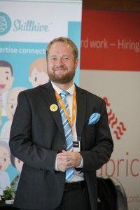 Jaakko Naakka, CTO of Intunex at HR Tech Europe 2014. Photo: Heather Bussing.