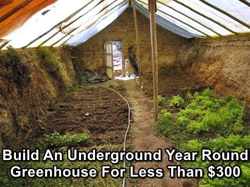 de efecto invernadero subterráneo