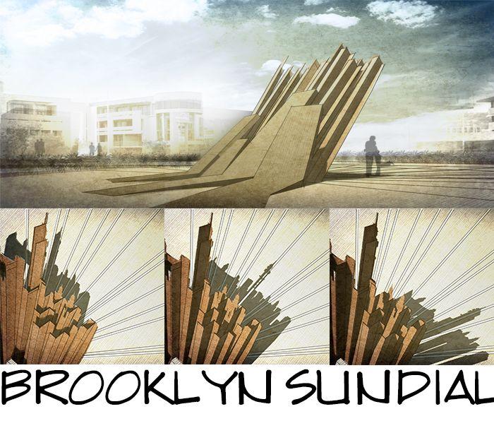 Brooklyn Sundial by DJ Pretorius