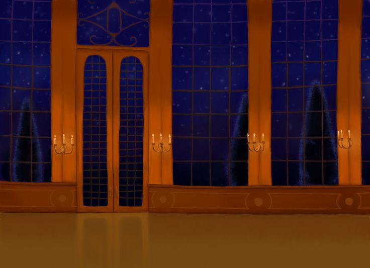 Beauty And The Beast Ballroom Backdrop Bing Images