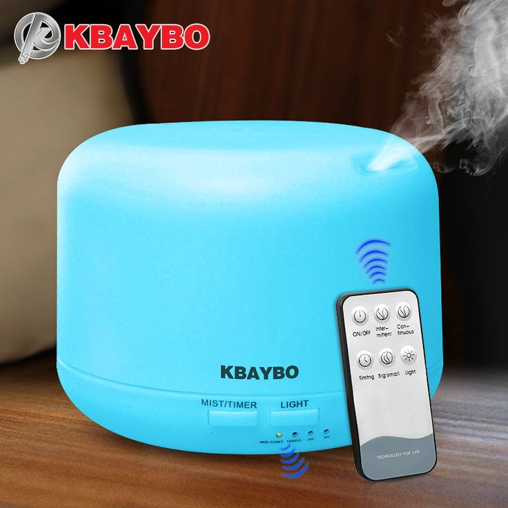 Remote Control 300ML Ultrasonic Air Aroma Humidifier With 7 Color Lights Electric <font><b>Aromatherapy</b></font> Essential Oil Aroma <font><b>Diffuser</b></font>