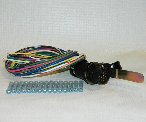 Hn38813107 Hiniker Pigtail Repair Kit For Amp Cpc Snowplow End Snow Plow Kit Repair