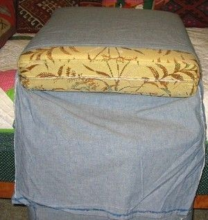 Easy-To-Make Floor Cushions From Old Sofa Pillows. » Curbly | DIY Design Community