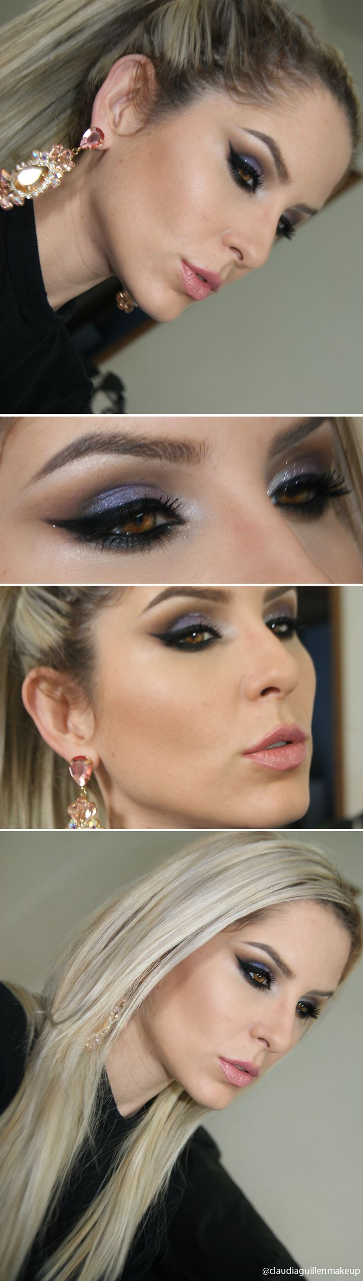 make com pigmento Bewitched makeup geek e gitter toque de cristal pausa para feminices http://instagram.com/claudiaguillenmakeup http://claudiaguillen.inbloodesign.com/