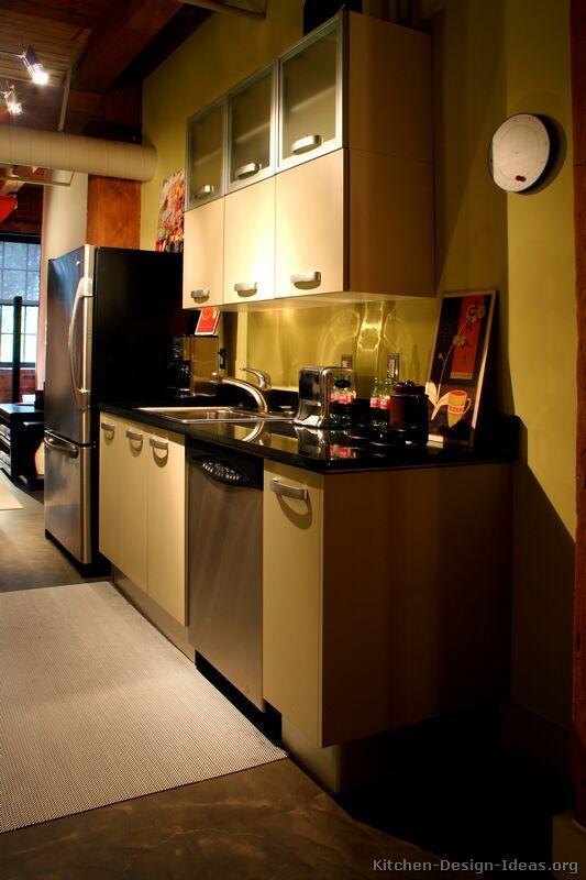 Contemporary And Modern Small Kitchen Interior Design Ideas    HomeHouseDesign.