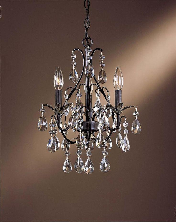 Bathroom Mini Chandeliers 57 best chandeliers images on pinterest | crystal chandeliers
