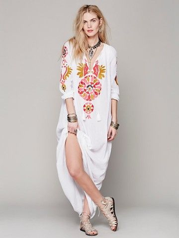 Free People Orea Kaftan