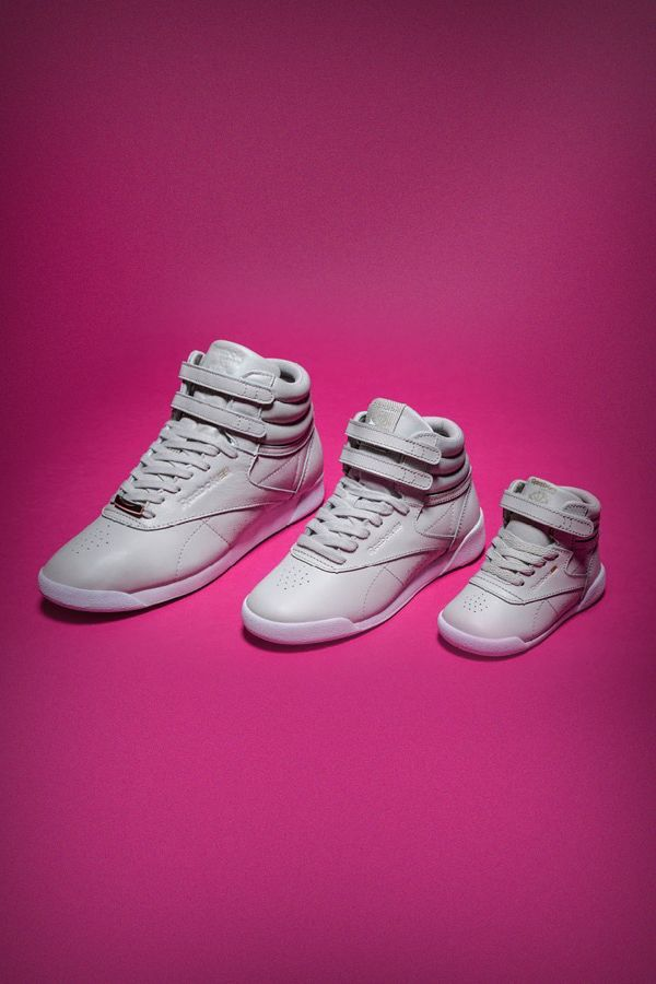 4f7cec9aa0fbc Reebok Classic Freestyle Hi Muted. Streetstyle for you and your mini ...