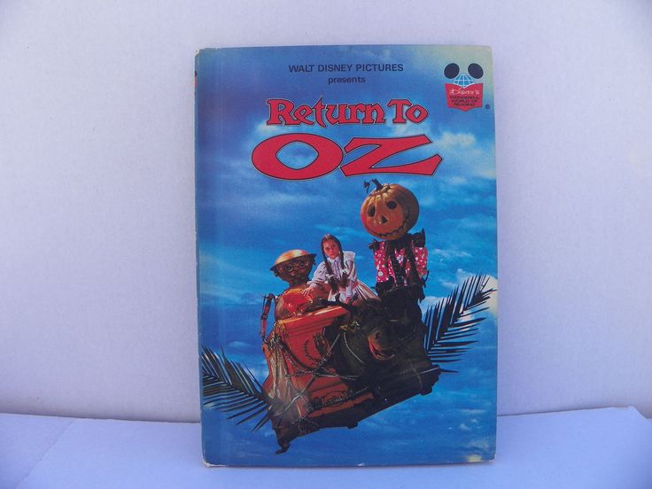 Return to Oz - Disney's Wonderful World Of Reading Hardcover Book , 1985 Random House , Children's Book , Children's Walt Disney Story Book by ShersBears on Etsy